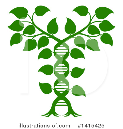 Dna Clipart #1415425 by AtStockIllustration