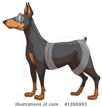 Dog Clipart #1286963 by Graphics RF