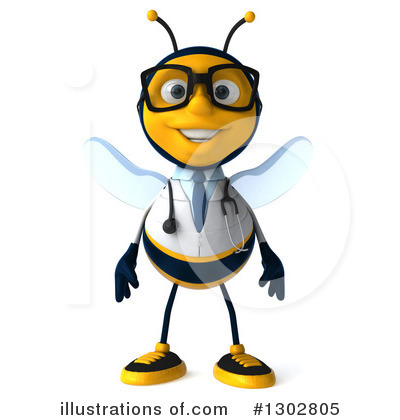 Doctor Bee Clipart #1302805 by Julos