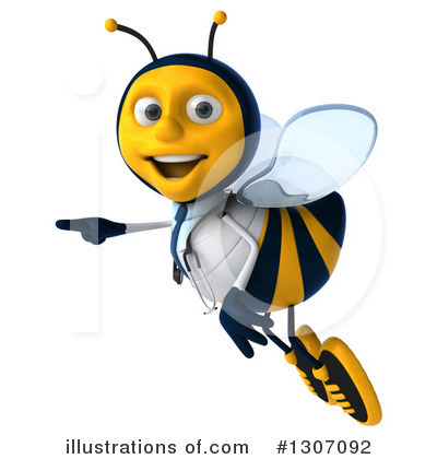 Doctor Bee Clipart #1307092 by Julos
