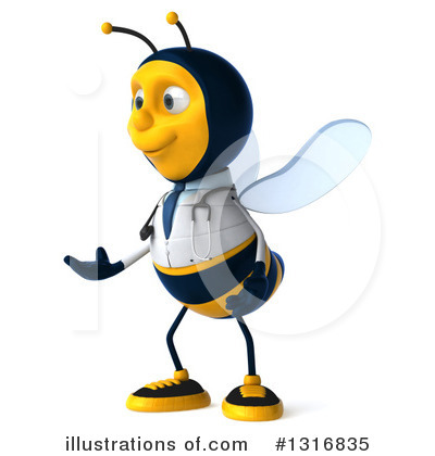 Doctor Bee Clipart #1316835 by Julos