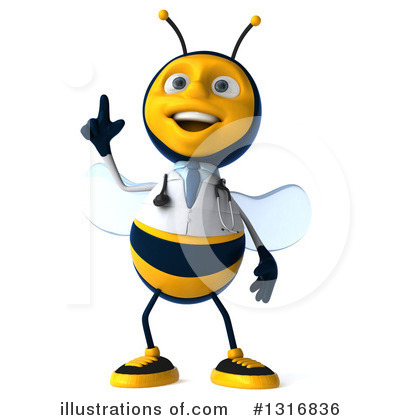 Doctor Bee Clipart #1316836 by Julos