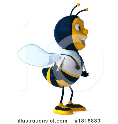 Doctor Bee Clipart #1316839 by Julos