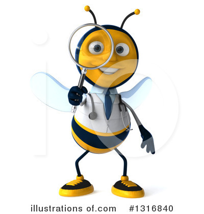 Doctor Bee Clipart #1316840 by Julos