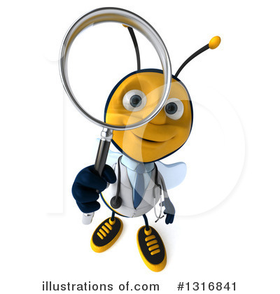 Doctor Bee Clipart #1316841 by Julos