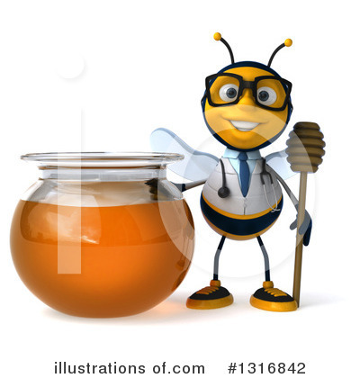 Doctor Bee Clipart #1316842 by Julos