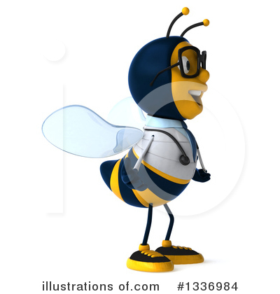 Doctor Bee Clipart #1336984 by Julos