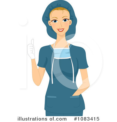 Female Physician Clipart