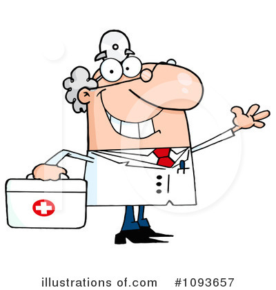 Doctor Clipart #1093657 by Hit Toon