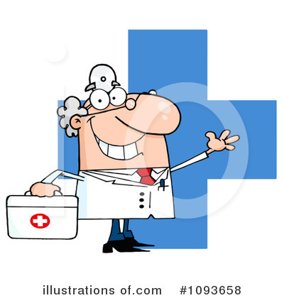 Doctor Clipart #1093658 by Hit Toon