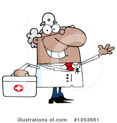 Doctor Clipart #1093661 by Hit Toon