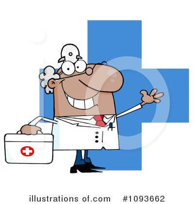 Doctor Clipart #1093662 by Hit Toon