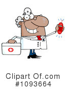 Royalty-Free (RF) doctor Clipart Illustration #1093664