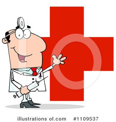 Doctor Clipart #1109537 by Hit Toon
