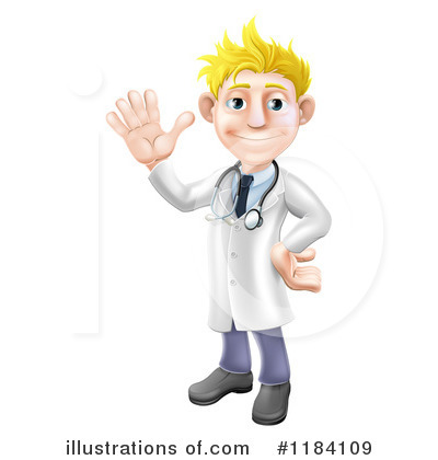 Doctor Clipart #1184109 by AtStockIllustration