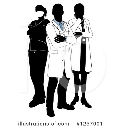 Doctor Clipart #1257001 by AtStockIllustration