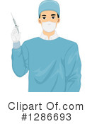 Royalty-Free (RF) Doctor Clipart Illustration #1286693
