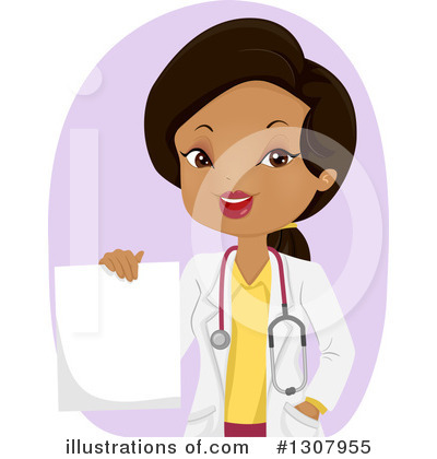 Royalty-Free (RF) Doctor Clipart Illustration by BNP Design Studio - Stock Sample #1307955