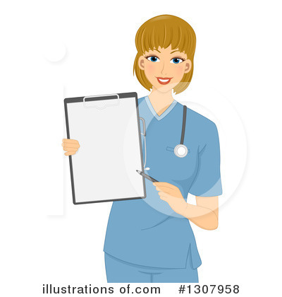 Nurse Clipart #1307958 by BNP Design Studio