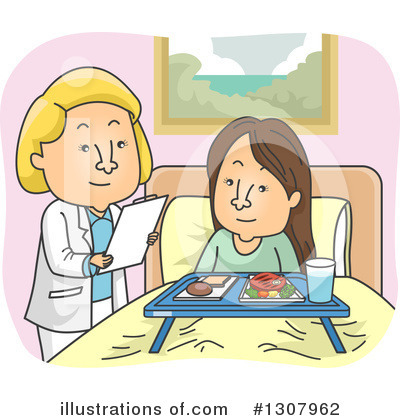 Royalty-Free (RF) Doctor Clipart Illustration by BNP Design Studio - Stock Sample #1307962