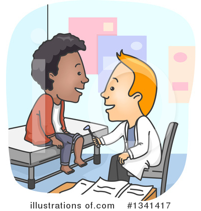 Royalty-Free (RF) Doctor Clipart Illustration by BNP Design Studio - Stock Sample #1341417