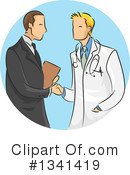 Royalty-Free (RF) Doctor Clipart Illustration #1341419