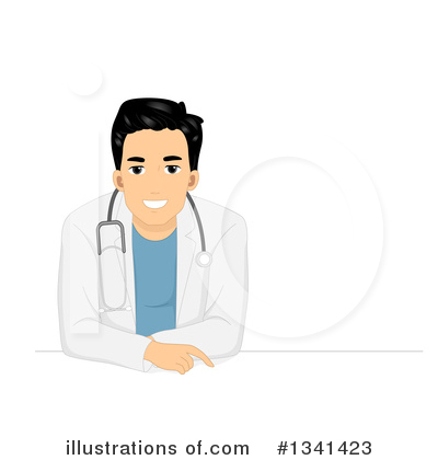 Royalty-Free (RF) Doctor Clipart Illustration by BNP Design Studio - Stock Sample #1341423
