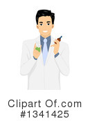 Royalty-Free (RF) Doctor Clipart Illustration #1341425