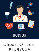 Doctor Clipart #1347094 by Vector Tradition SM
