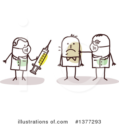 Syringe Clipart #1377293 by NL shop