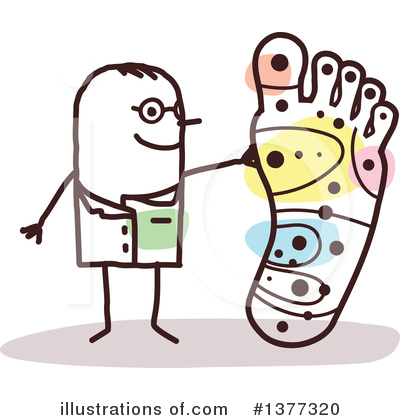 Foot Clipart #1377320 by NL shop