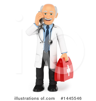 Veterinarian Clipart #1445546 by Texelart
