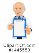 Royalty-Free (RF) Doctor Clipart Illustration #1445553