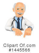 Royalty-Free (RF) Doctor Clipart Illustration #1445566