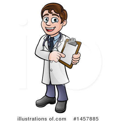 Veterinarian Clipart #1457885 by AtStockIllustration