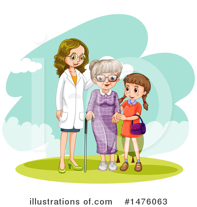Royalty-Free (RF) Doctor Clipart Illustration by Graphics RF - Stock Sample #1476063