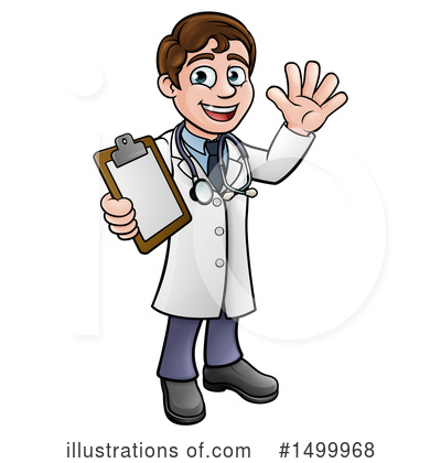 Doctor Clipart #1499968 by AtStockIllustration