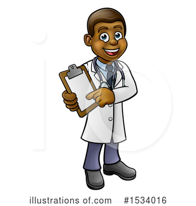 Royalty-Free (RF) Doctor Clipart Illustration by AtStockIllustration - Stock Sample #1534016