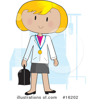 Doctor Clipart #16202 by Maria Bell