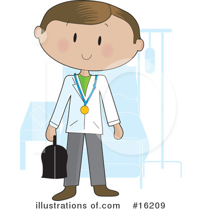 Doctor Clipart #16209 by Maria Bell