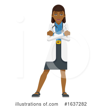 Royalty-Free (RF) Doctor Clipart Illustration by AtStockIllustration - Stock Sample #1637282