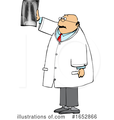 Royalty-Free (RF) Doctor Clipart Illustration by djart - Stock Sample #1652866