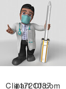 Doctor Clipart #1721087 by KJ Pargeter