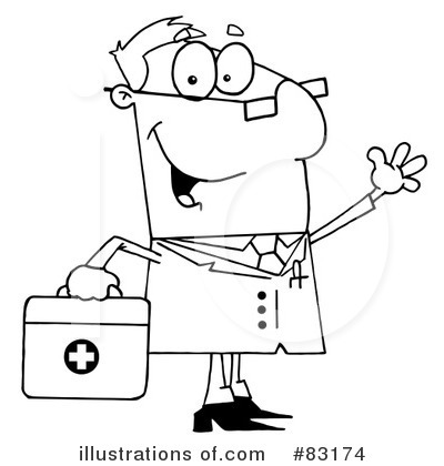 Doctor Clipart #83174 by Hit Toon