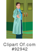 Royalty-Free (RF) Doctor Clipart Illustration #92942