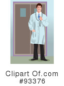 Royalty-Free (RF) Doctor Clipart Illustration #93376