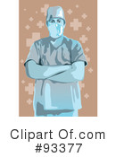 Royalty-Free (RF) Doctor Clipart Illustration #93377