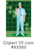 Royalty-Free (RF) Doctor Clipart Illustration #93380