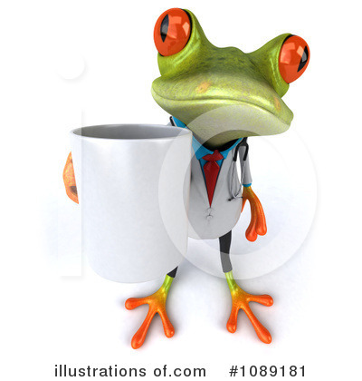 Doctor Frog Clipart #1089181 by Julos