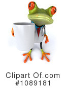 Royalty-Free (RF) Doctor Frog Clipart Illustration #1089181